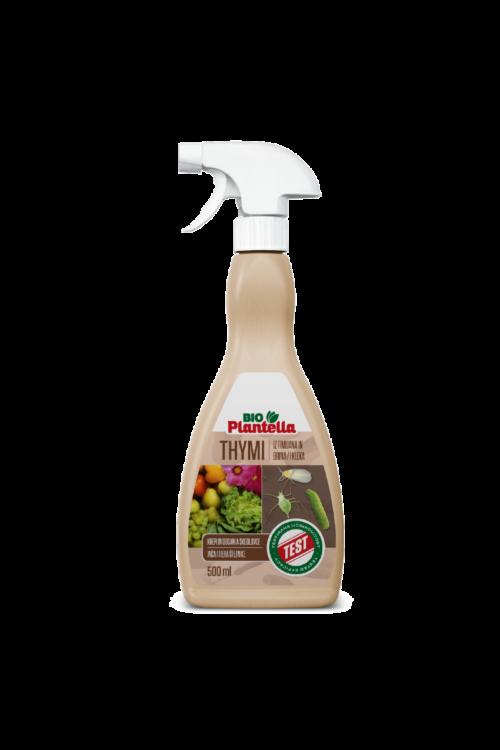 Biosprej Plantella natur thymi Rtu (500 ml, krepi rastline in odganja škodljivce, na osnovi timijana, za vse vrste rastlin)