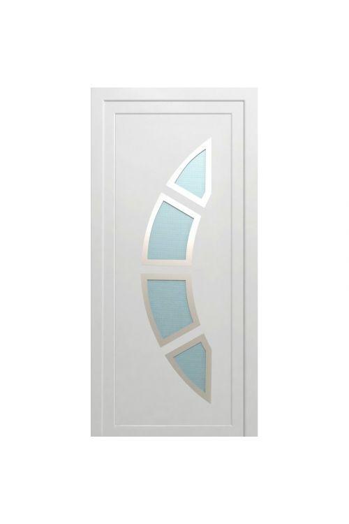 Vhodna vrata Solid Elements Koper (1000 x 2100 mm, PVC, bela, desna, brez kljuke in cilindra)