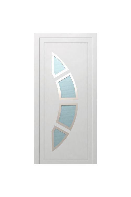 Vhodna vrata Solid Elements Koper (1000 x 2100 mm, PVC, bela, leva, brez kljuke in cilindra)