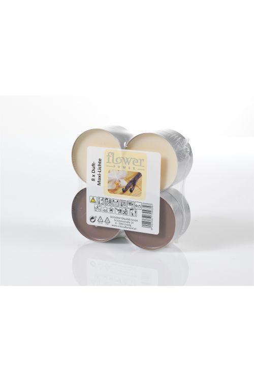 Dišeče čajne sveče Maxi (8 kosov, vanilija)