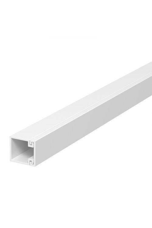 SAMOLEPILNI KABELSKI KANAL (2 m, 10 x 10 mm, bel)
