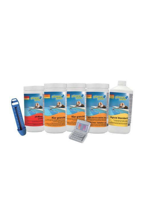 6-delni osnovni set za nego vode Maxi (nega in vzdrževanje čiste vode, za bazene do 6.000 l)