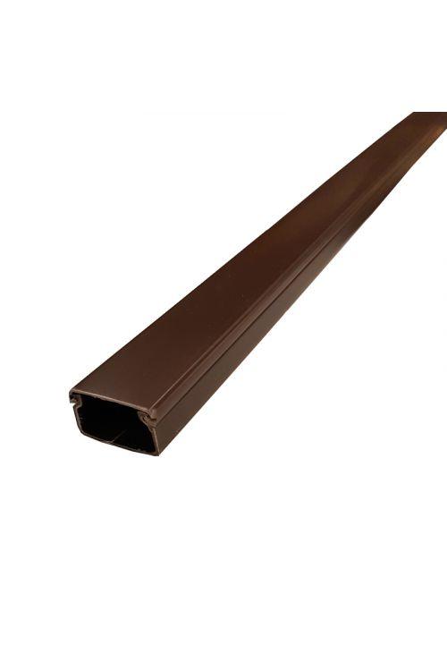 Samolepilni kabelski kanal (2 m, 30 x 17 mm, rjav)
