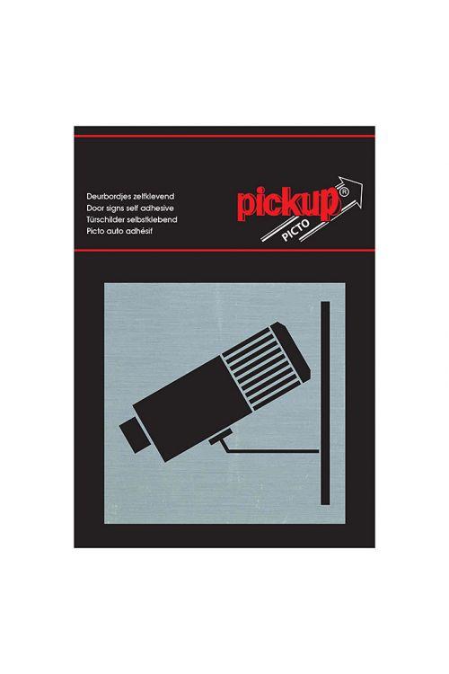 Nalepka Pickup (motiv: Nadzorna kamera, 80 x 80 mm)