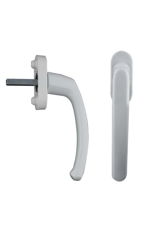 Kljuka za okno (PVC, bela)