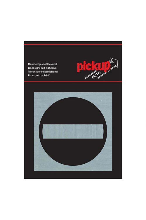 Nalepka Pickup (motiv: Ni vstopa, 80 x 80 mm)