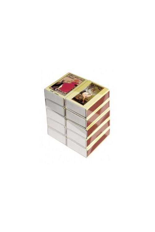 Vžigalice v škatlici (10 škatlic, 380 kosov)