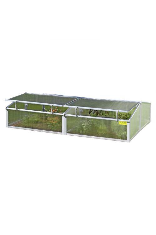 Termo rastlinjak za zaščito rastlin JUWEL Easy Fix (100 x 200 x 40 cm, plastičen)