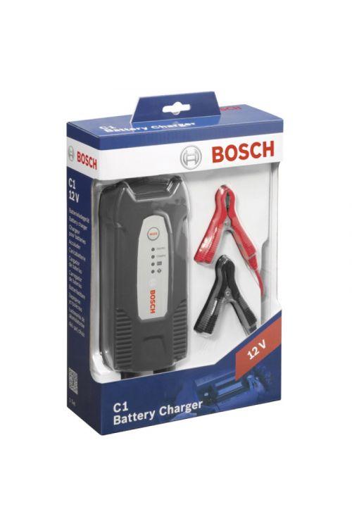 Polnilec akumulatorjev BOSCH C1 (12 V, za akumulatorje 5–120 Ah)