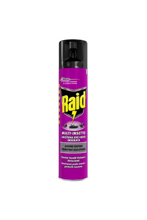 Univerzalni sprej proti insektom Raid (300 ml, proti vsem vrstam insektov)