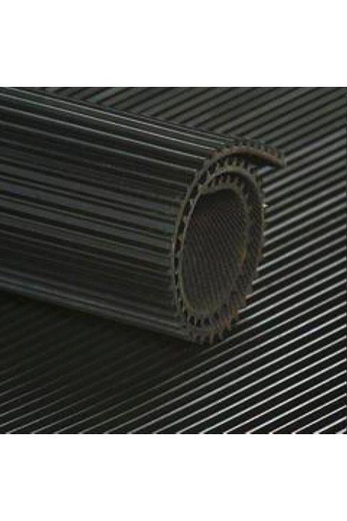 Gumijasta črtasta podloga B 1200mm (debeline: 3 mm, črna)