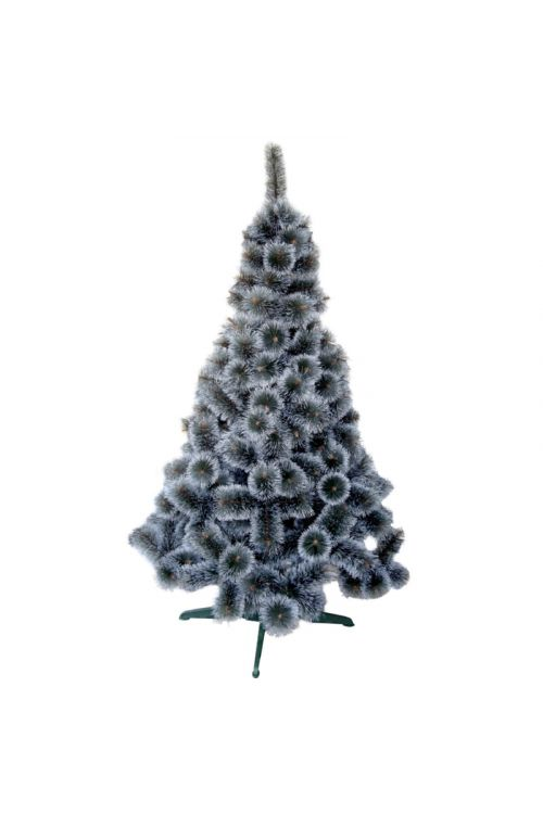 Umetno božično drevo White Tops Superiore (PVC, zeleno, z imitacijo zasneženih konic, 180 cm)