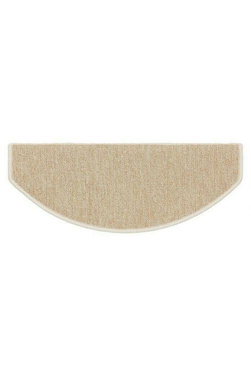 Preproga za stopnice Astra Fox (65 x 28 cm, 100 % polipropilen, bež)