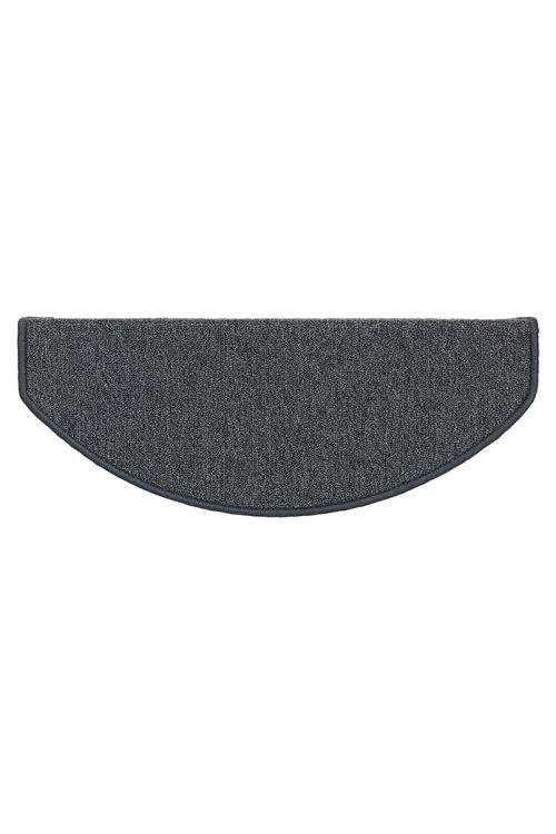 Preproga za stopnice Astra Fox (65 x 28 cm, 100 % polipropilen, črna)