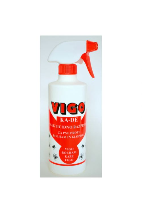 Insekticidni sprej za pse in mačke Vigo KA-DE (450 ml)