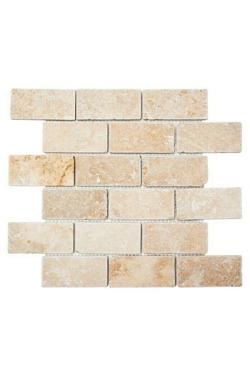 Mozaik ploščice Brick Inula Antique XNT 41210 (30,5 x 30,5 cm, bež, mat)