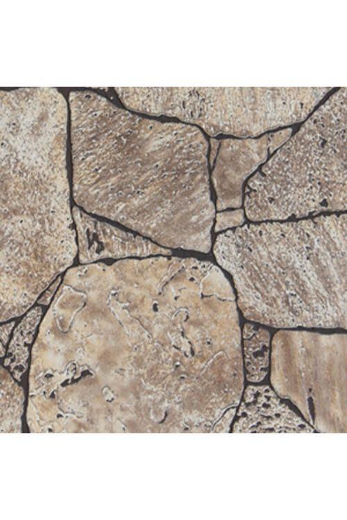 Stenske panelne plošče ABT_Tech (imitacija kamna, barva: rjava, 244 x 122 x 0,55 cm)