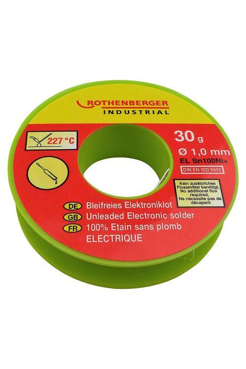 Lot za elektroniko Rothenberger (1 mm, 30 g)