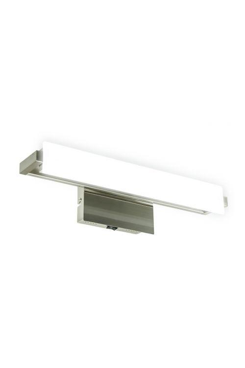 LED STENSKA SVETILKA JIL (16 W, 1.400 lm, 3.000 K, IP20, 44,5 x 13,5 x 13 cm, kovina, bela)