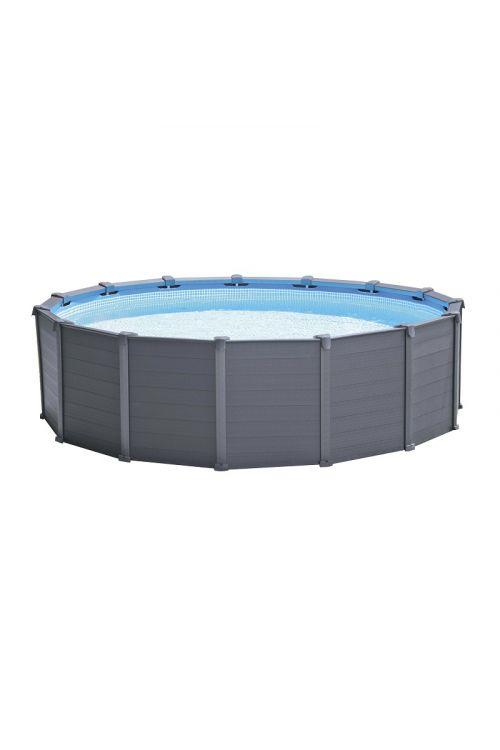 Montažni bazen Intex (478 x 124 cm, peščeni filter 4,000 l/h, prostornina 16,804 l)