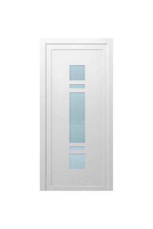 Vhodna vrata Solid Elements Tolmin (1000 x 2100 mm, PVC, bela, leva, brez kljuke)