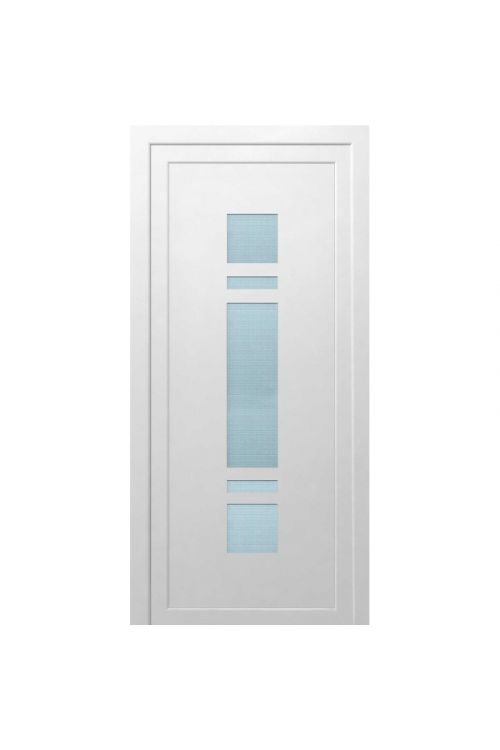 Vhodna vrata Solid Elements Tolmin (1000 x 2100 mm, PVC, bela, desna, brez kljuke)