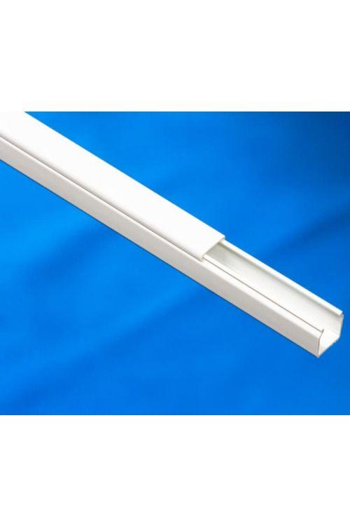 Nadometni inštalacijski kanal NIK (1.5 x 1.7 cm, bel, 2 m)