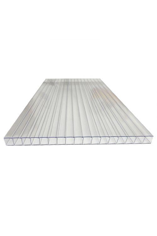 Polikarbonatna plošča XL (200 x 105 cm, debelina 10 mm, prozorna)