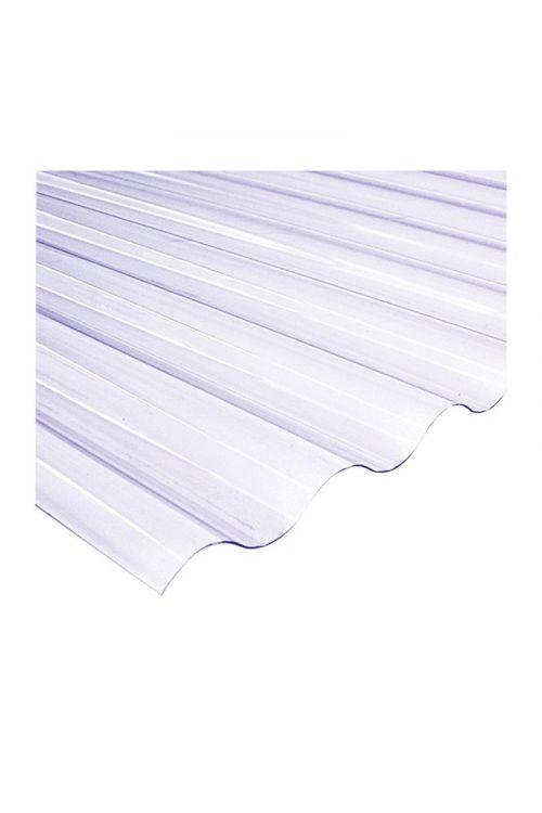Valovita polikarbonatna plošča XL (200 x 150 cm, debelina 10 mm, prozorna)