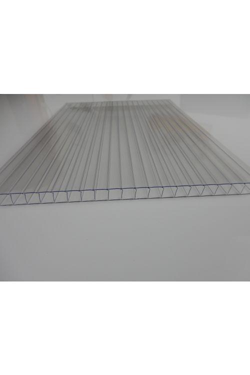 Valovita polikarbonatna plošča XL (200 x 105 cm, debelina 10 mm, prozorna)