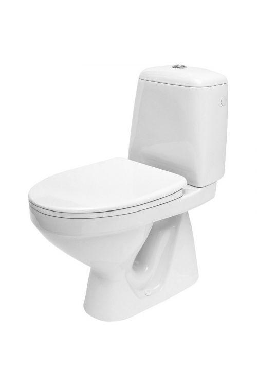 WC monoblok Cersanit Roma (odtok v tla, s kotličkom in WC desko)