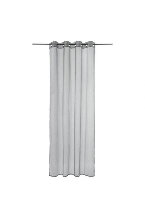 Zavesa Mia (135 x 245 cm, svetlo siva)