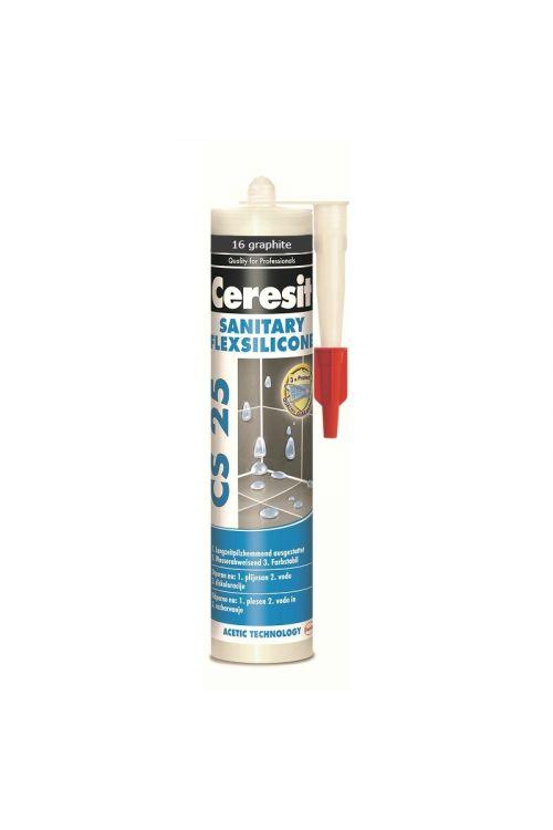 Sanitarna silikonska tesnilna masa Ceresit CS25, graphite ( širine spoje: 35 mm, kartuša 300 ml)