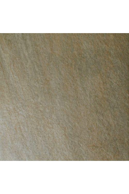 Gres ploščica Quarzite (61 x 61 x 1,6 cm, bež, glazirana, R11)