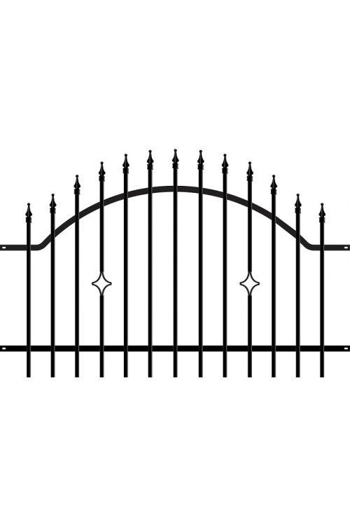 Ograjni element Polargos Monaco (117,5 x 180 cm, pocinkan)