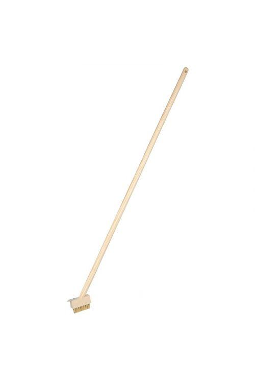 Strgalo za fuge GARDOL (držalo 140 cm, dolžina krtače 14 cm)
