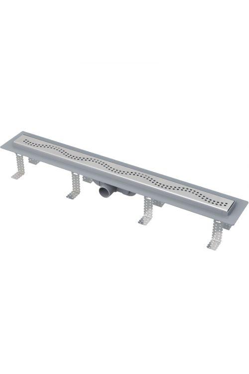 Tuš kanaleta CPZ8 650 M Comfort  (polipropilen, rešetka iz nerjavnega jekla, 65 cm, nastavljiva višina)