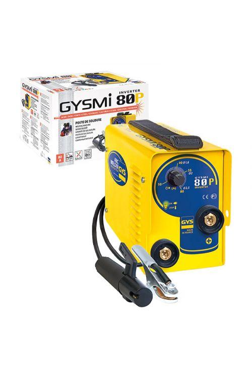 Varilni aparat GYSMI 80 P (varilni tok: 10–80 A, premer elektrode: 1,6–2,5 mm)