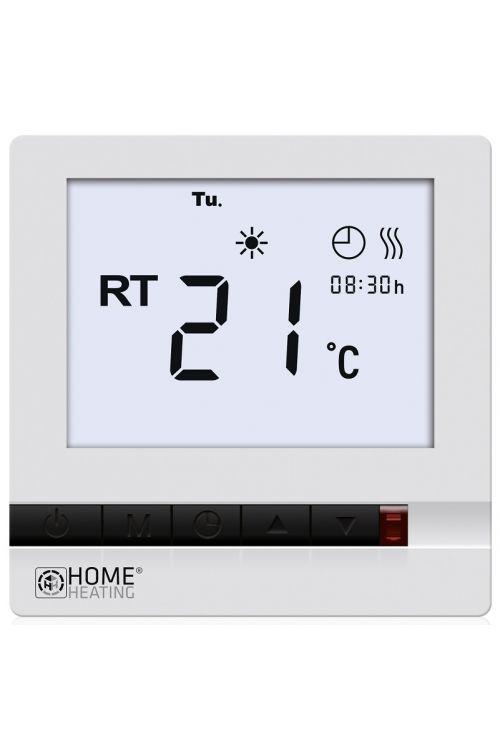 Digitalni termostat Danfoss Easy&Cosy (88 x 86 x 14 mm, NTC senzor do 45°C, IP30)