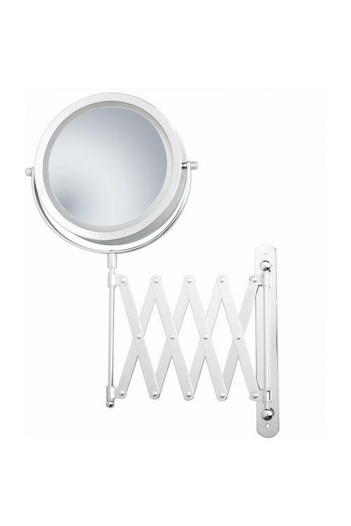 Kozmetično ogledalo Venus Lily (LED osvetlitev, stensko, 3x povečava)