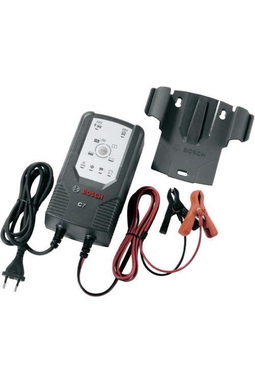 Polnilec akumulatorjev BOSCH C7 (12 V/24 V, za akumulatorje 120–230 Ah)