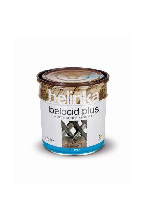 Specialni premaz za les BELOCID PLUS  (750 ml, za odpravljanje škodljivcev)