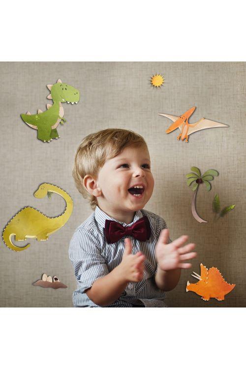 "Dekorativna nalepka ""Dinosaurs"" (30 cm x 31 cm)"