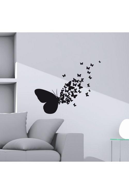 """Okrasna nalepka """"Butterflies Silhouettes"""" (31 cm x 31 cm)"""