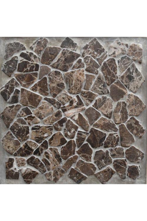 Mozaik ploščica Kaiser (30 x 30 cm, rjava, mat)