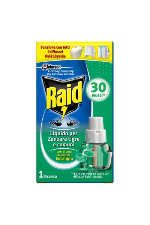 Polnilo za električni aparat Raid Evkaliptus (21 ml, s tekočim insekticidom)