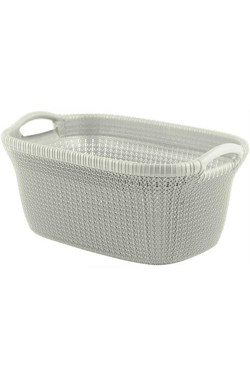 Košara za perilo CURVER Knit (59 x 38 x 27 cm, 40 L)