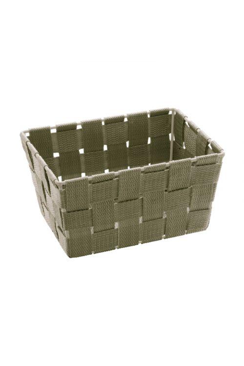 Košarica za shranjevanje Wenko Adria Mini (19 x 9 x 14 cm, rjava, polipropilen)