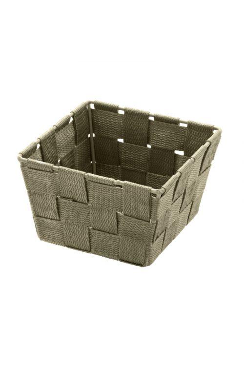 Košarica za shranjevanje Wenko Adria Mini (14 x 9 x 14 cm, rjava, polipropilen)