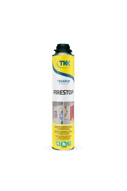 PU pena za lepljenje izolacije Tekapur Firestop (pistola, 750 ml)